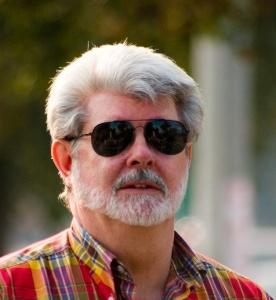 George Lucas, mies, joka ei katsonut erästä teaseria joulukuussa. (kuva: Joey Gannon, CC BY-SA 2.0)