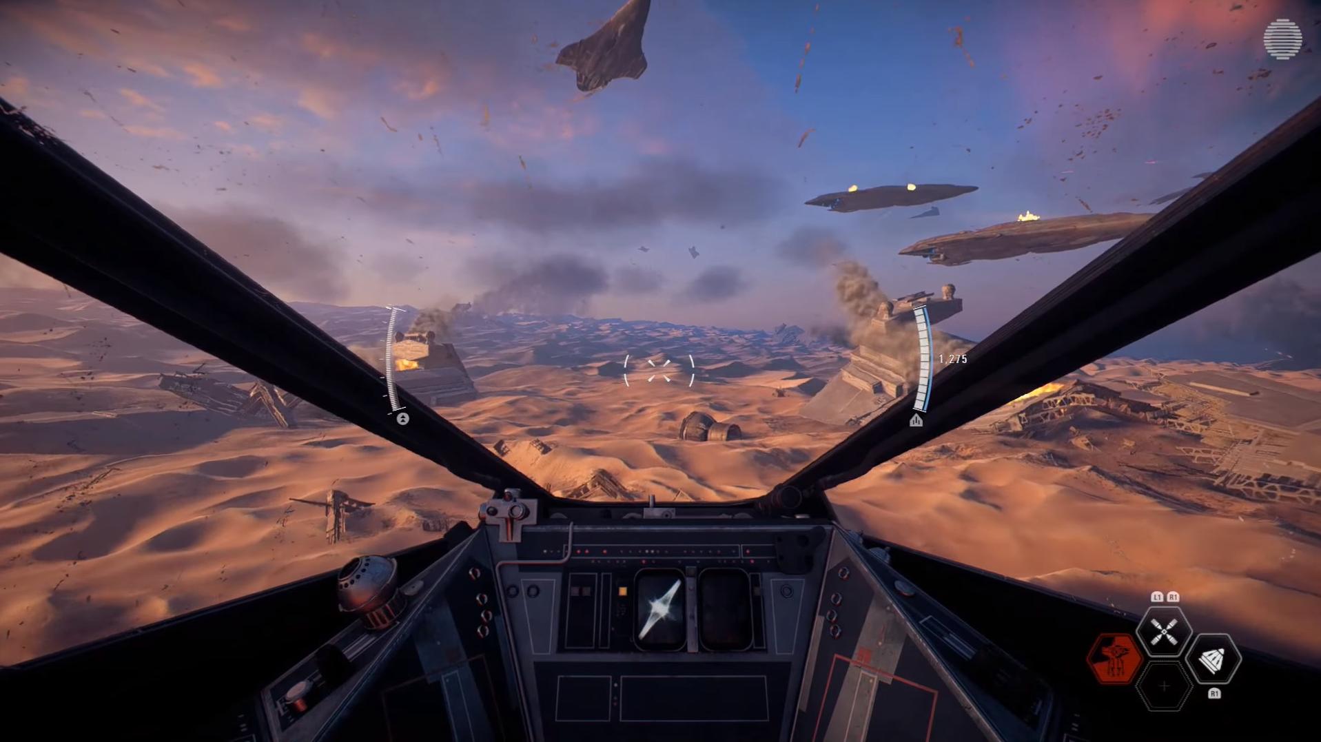 Pelikuva: Jakkun taistelu, aluksen ohjaimissa.