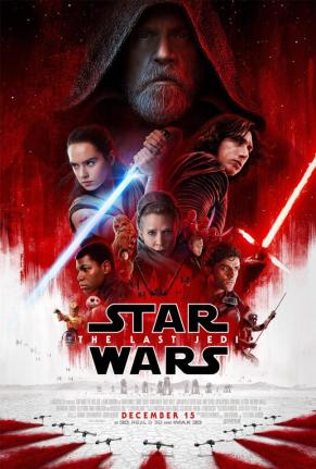 the last jedi theatrical poster