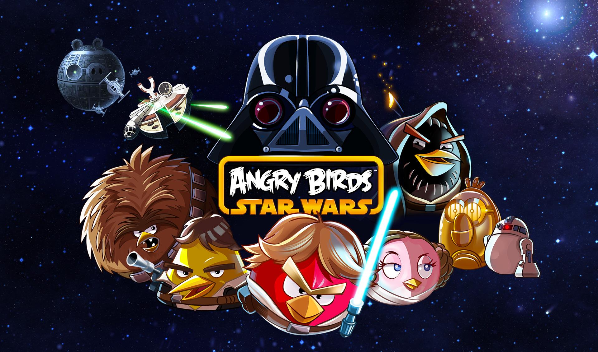 Angry Birds Star Wars -pelilogo