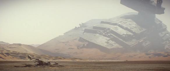 Jakkun taistelun jälkiä The Force Awakensista.